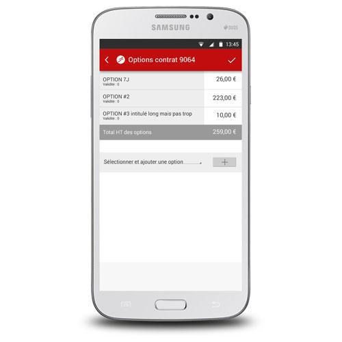 rdsc nomadis app screenshot 3